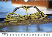 Seemannsgarn 2019. Impressionen von Tau und Takelage (Wandkalender 2019 DIN A4 quer) - Produktdetailbild 1