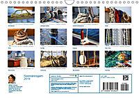 Seemannsgarn 2019. Impressionen von Tau und Takelage (Wandkalender 2019 DIN A4 quer) - Produktdetailbild 13