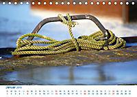 Seemannsgarn 2019. Impressionen von Tau und Takelage (Tischkalender 2019 DIN A5 quer) - Produktdetailbild 1