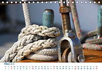 Seemannsgarn 2019. Impressionen von Tau und Takelage (Tischkalender 2019 DIN A5 quer) - Produktdetailbild 3