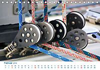 Seemannsgarn 2019. Impressionen von Tau und Takelage (Tischkalender 2019 DIN A5 quer) - Produktdetailbild 2