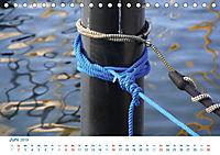Seemannsgarn 2019. Impressionen von Tau und Takelage (Tischkalender 2019 DIN A5 quer) - Produktdetailbild 6