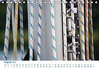 Seemannsgarn 2019. Impressionen von Tau und Takelage (Tischkalender 2019 DIN A5 quer) - Produktdetailbild 8