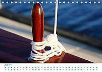 Seemannsgarn 2019. Impressionen von Tau und Takelage (Tischkalender 2019 DIN A5 quer) - Produktdetailbild 7