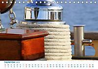 Seemannsgarn 2019. Impressionen von Tau und Takelage (Tischkalender 2019 DIN A5 quer) - Produktdetailbild 9