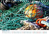 Seemannsgarn 2019. Impressionen von Tau und Takelage (Tischkalender 2019 DIN A5 quer) - Produktdetailbild 12