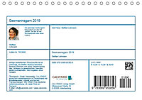 Seemannsgarn 2019. Impressionen von Tau und Takelage (Tischkalender 2019 DIN A5 quer) - Produktdetailbild 13
