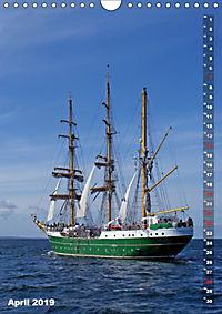 Segelromantik - Grosssegler auf der Ostsee (Wandkalender 2019 DIN A4 hoch) - Produktdetailbild 4