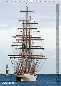 Segelromantik - Grosssegler auf der Ostsee (Wandkalender 2019 DIN A4 hoch) - Produktdetailbild 6