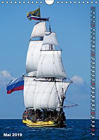 Segelromantik - Grosssegler auf der Ostsee (Wandkalender 2019 DIN A4 hoch) - Produktdetailbild 5