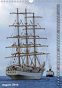 Segelromantik - Grosssegler auf der Ostsee (Wandkalender 2019 DIN A4 hoch) - Produktdetailbild 8