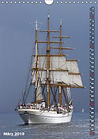 Segelromantik - Grosssegler auf der Ostsee (Wandkalender 2019 DIN A4 hoch) - Produktdetailbild 3
