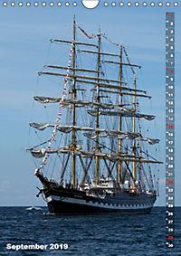 Segelromantik - Grosssegler auf der Ostsee (Wandkalender 2019 DIN A4 hoch) - Produktdetailbild 9