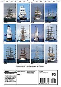 Segelromantik - Grosssegler auf der Ostsee (Wandkalender 2019 DIN A4 hoch) - Produktdetailbild 13