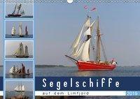 Segelschiffe auf dem Limfjord (Wandkalender 2019 DIN A3 quer), Werner Prescher