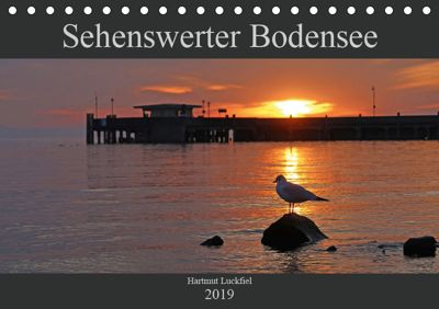 Sehenswerter Bodensee (Tischkalender 2019 DIN A5 quer), Hartmut Luckfiel