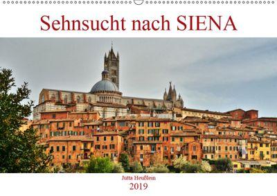 Sehnsucht nach SIENA (Wandkalender 2019 DIN A2 quer), Jutta Heusslein