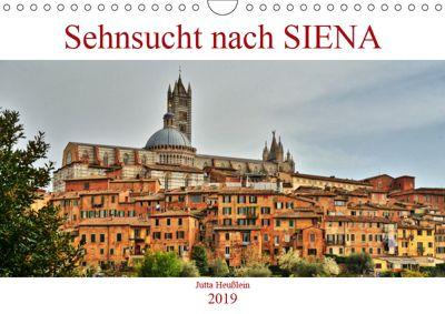 Sehnsucht nach SIENA (Wandkalender 2019 DIN A4 quer), Jutta Heußlein