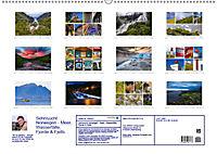 Sehnsucht Norwegen - Meer, Wasserfälle, Fjorde und Fjells - Der Südwesten (Wandkalender 2019 DIN A2 quer) - Produktdetailbild 13