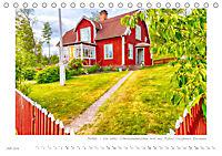 Sehnsucht Schweden - Elche, Natur und Urlaubsträume (Tischkalender 2019 DIN A5 quer) - Produktdetailbild 7