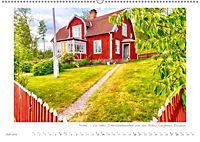 Sehnsucht Schweden - Elche, Natur und Urlaubsträume (Wandkalender 2019 DIN A2 quer) - Produktdetailbild 7