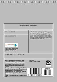seid fruchtbar und mehret euch (Tischkalender 2019 DIN A5 hoch) - Produktdetailbild 13