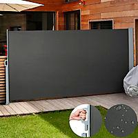 Seitenmarkise Anthrazit 160 x 300 cm - Produktdetailbild 1