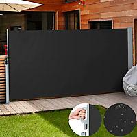Seitenmarkise schwarz 160 x 300 cm - Produktdetailbild 5