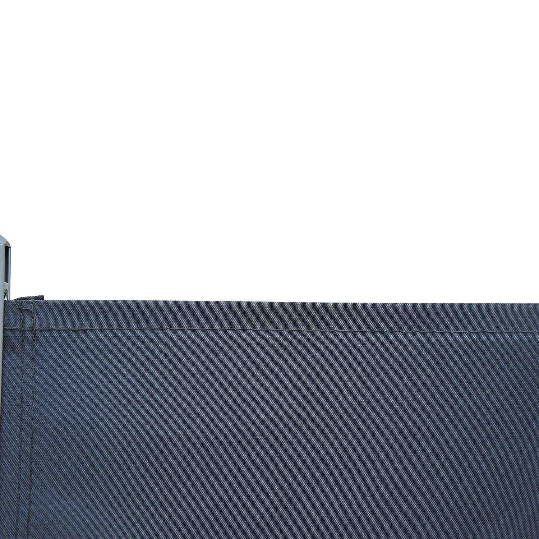 Seitlicher Sichtschutz Ausziehbar Farbe Dunkelgrau Weltbild De