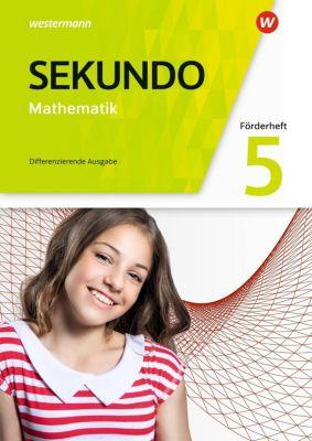 Sekundo, Ausgabe 2018 für Nordrhein-Westfalen: 5. Schuljahr, Förderheft