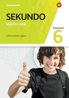 Sekundo, Differenzierende Ausgabe 2018: 6. Schuljahr, Arbeitsheft mit Lösungen