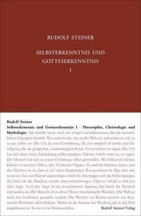 Selbsterkenntnis und Gotteserkenntnis, Rudolf Steiner