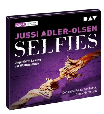 Selfies, 2 MP3-CDs, Jussi Adler-Olsen