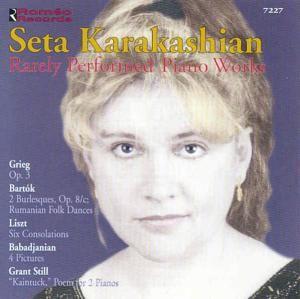 Selten Gespielte Klavierwerke, Seta Karakashian