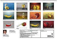 Seltsame Früchtchen (Wandkalender 2019 DIN A2 quer) - Produktdetailbild 2