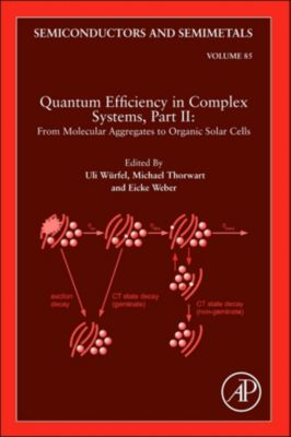Semiconductors and Semimetals: Quantum Efficiency in Complex Systems, Part II: From Molecular Aggregates to Organic Solar Cells