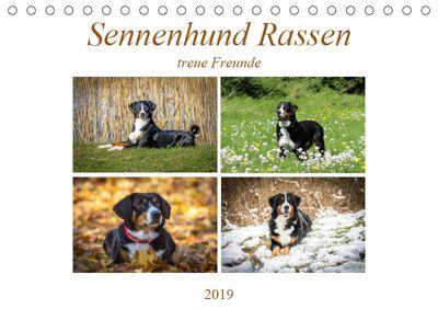 Sennenhund Rassen (Tischkalender 2019 DIN A5 quer), SchnelleWelten