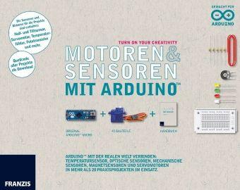 Sensoren und Motoren mit dem Arduino, Original Arduino Micro + 43 Bauteile + Handbuch., Günter Spanner