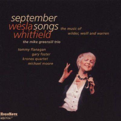 September Songs, Wesla Whitfield