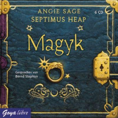 Septimus Heap Band 1: Magyk (6 Audio-CDs), Angie Sage