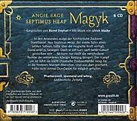 Septimus Heap Band 1: Magyk (6 Audio-CDs) - Produktdetailbild 1