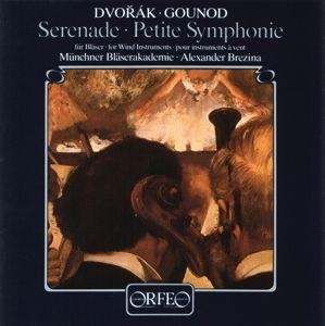 Serenade D-Moll Op.44/Petite Symphonie B-Dur, Brezina, Münchner Bläserakademie