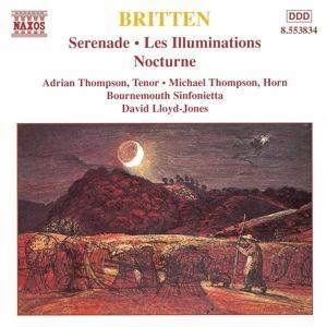 Serenade/Les Illuminations/+, Thompson, Lloyd-Jones, Bosi