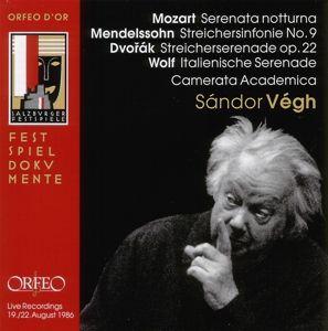 Serenata Notturna/Streichersinfonie 9/Serenaden, Sandor Vegh, Camms