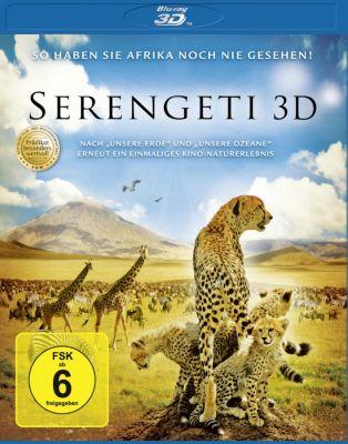 Serengeti 3D, Serengeti 3d, 2d Bd