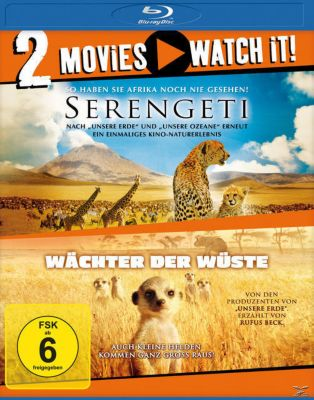 Serengeti , Wächter der Wüste Bluray Box, Reinhard Radke, James Honeyborne, Alexander McCall Smith