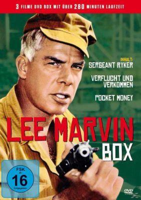 Sergeant Ryker, Verflucht und verkommen, Pocket Money)Lee Marvin Box ( DVD-Box