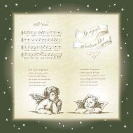 5 Servietten Weihnachtslied Stille Nacht heilige Weihnachten Serviettentechnik