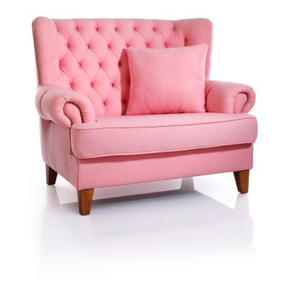 "Kindersessel rosa  Sessel ""Miss Lilly"", 1,5-Sitzer, rosa bestellen | Weltbild.de"
