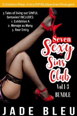 Seven Sexy Sins Club Bundle Vol 1-3, Jade Bleu